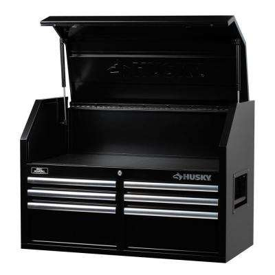 36 in. 6-Drawer Tool Chest, Black
