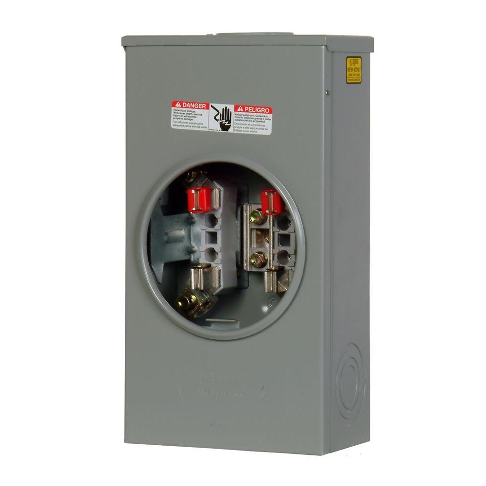 null 200 Amp Lever-Bypass Overhead/Underground Meter Socket