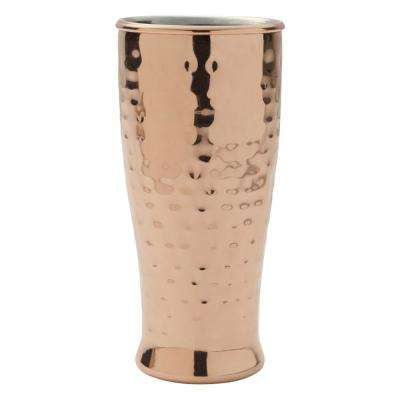 16 oz. Hammered Double Wall Copper Plated Pilsner