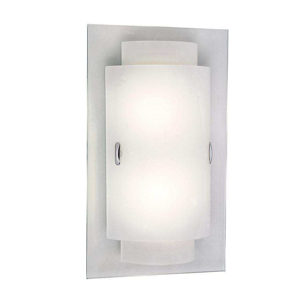 Stewart 2-Light Polished Chrome CFL Sconce