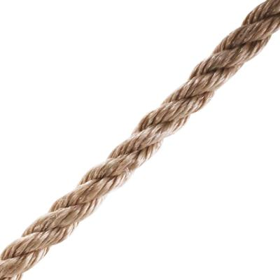 5/8 in. x 1 ft. Polypropylene Twist Rope, Brown