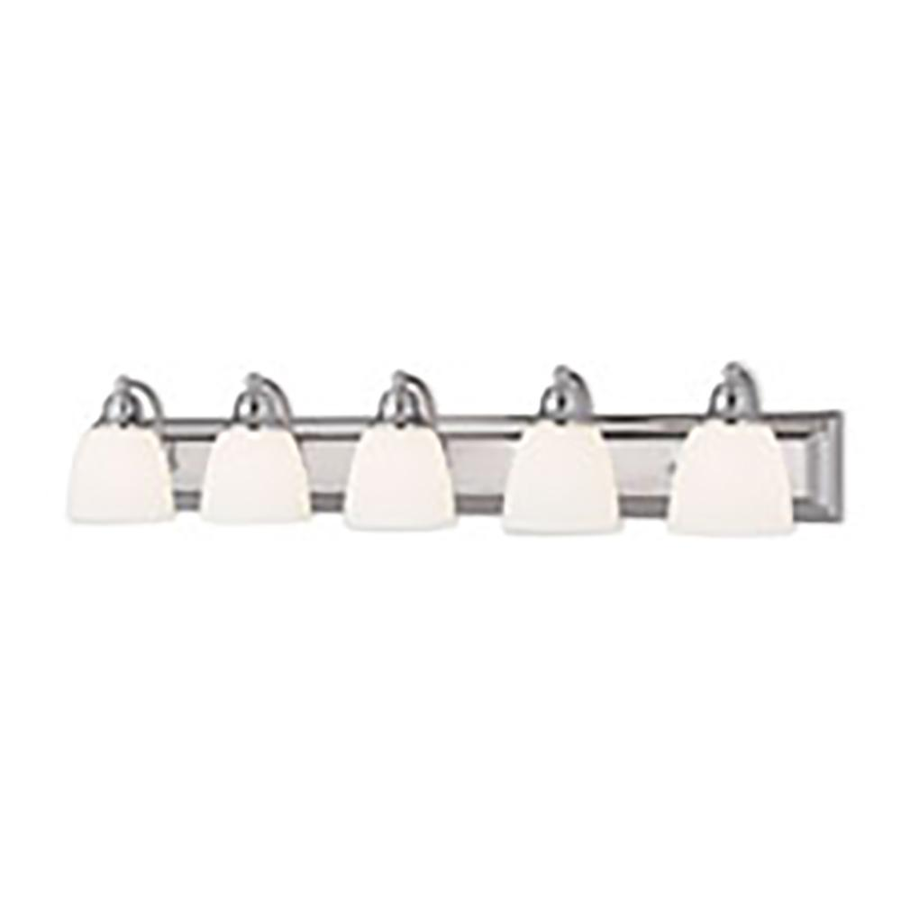 Livex Lighting Springfield 5-Light Chrome Bath Light