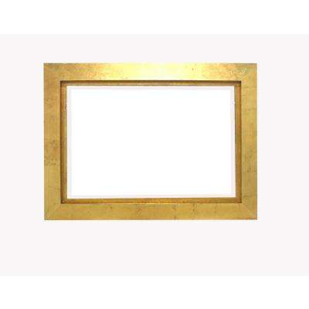 Gold Wood Wall Mirror