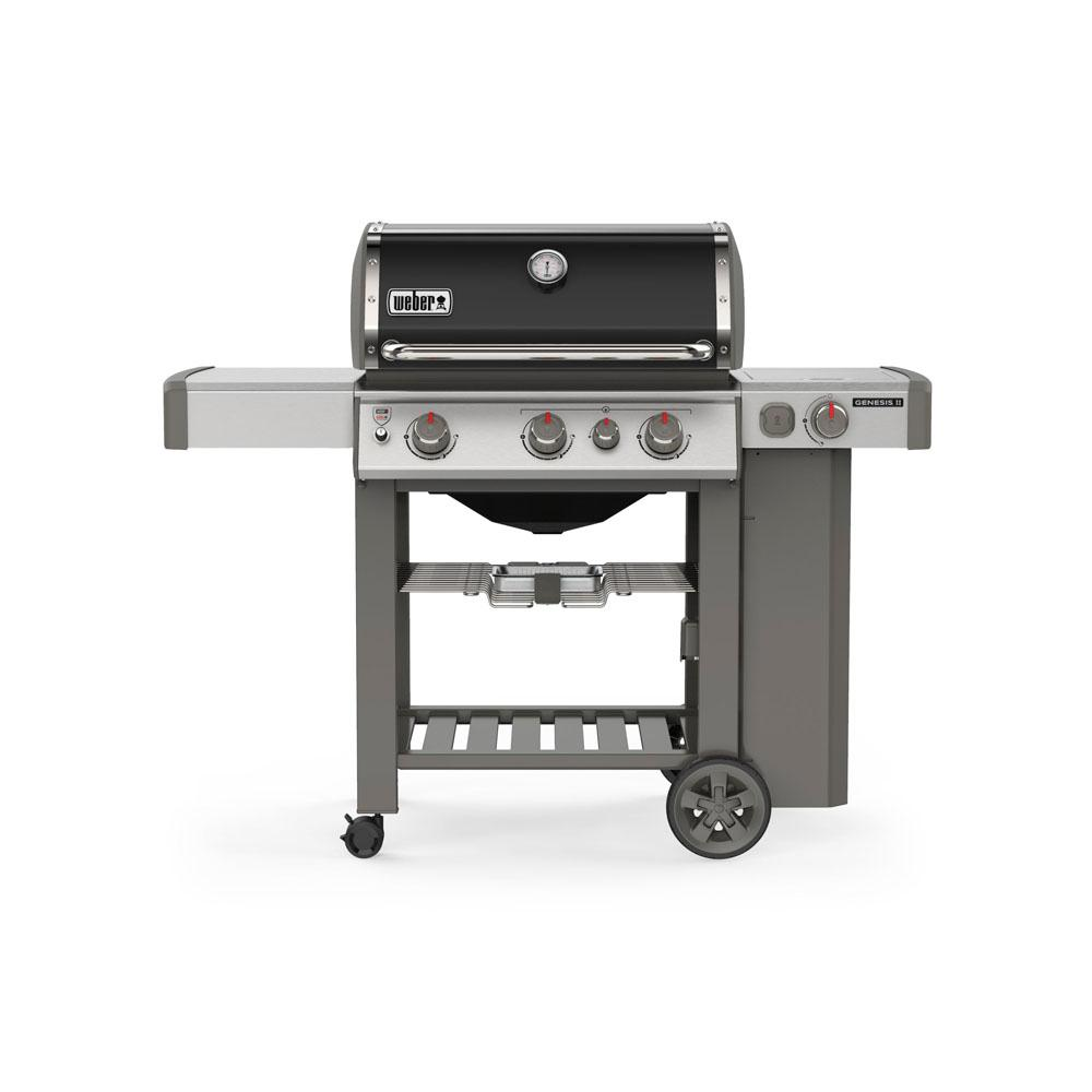 Relativ Weber Genesis II E-330 3-Burner Propane Gas Grill in Black with WX94