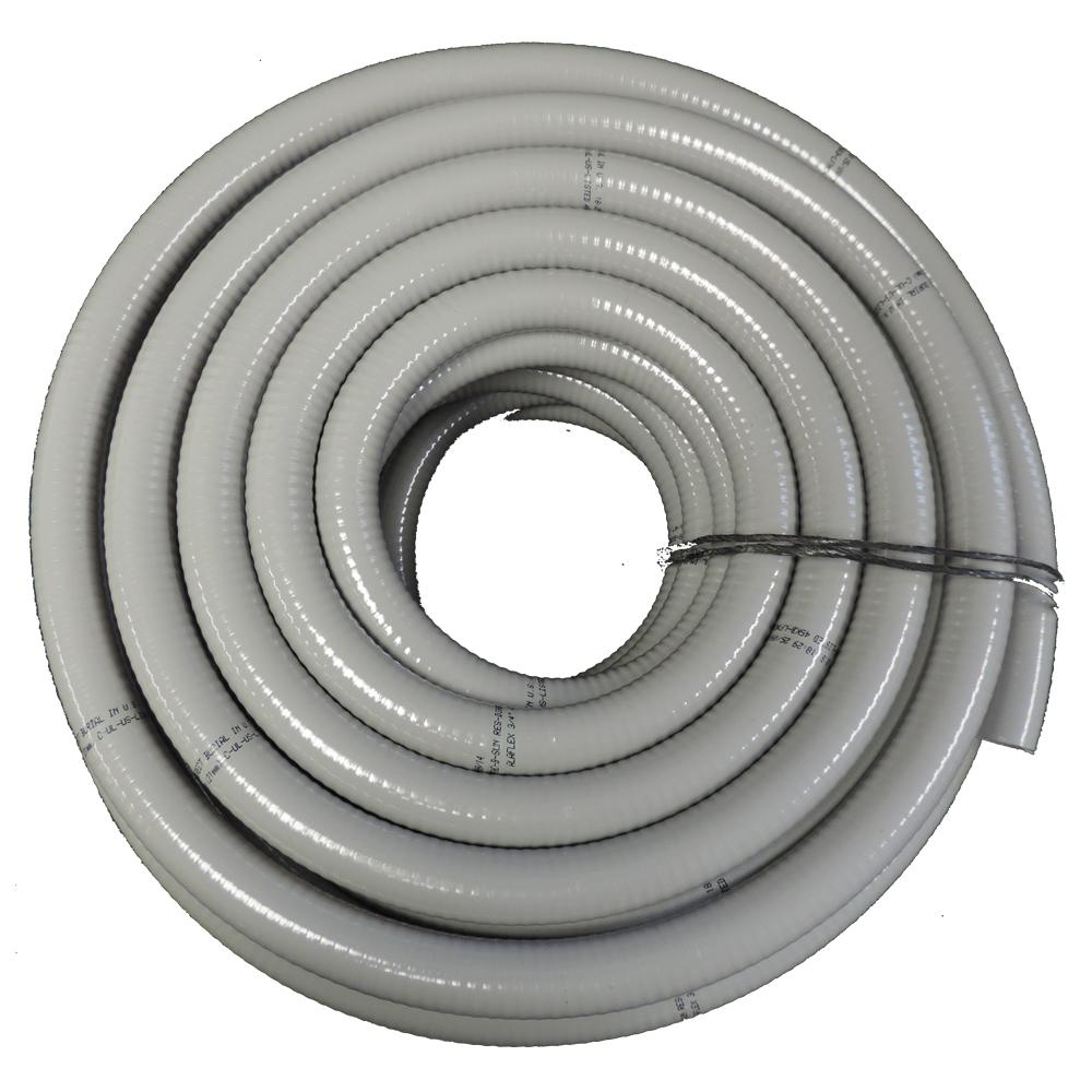 "split convoluted tubing conduit 1 1//2/"" x 40/' Wire loom"