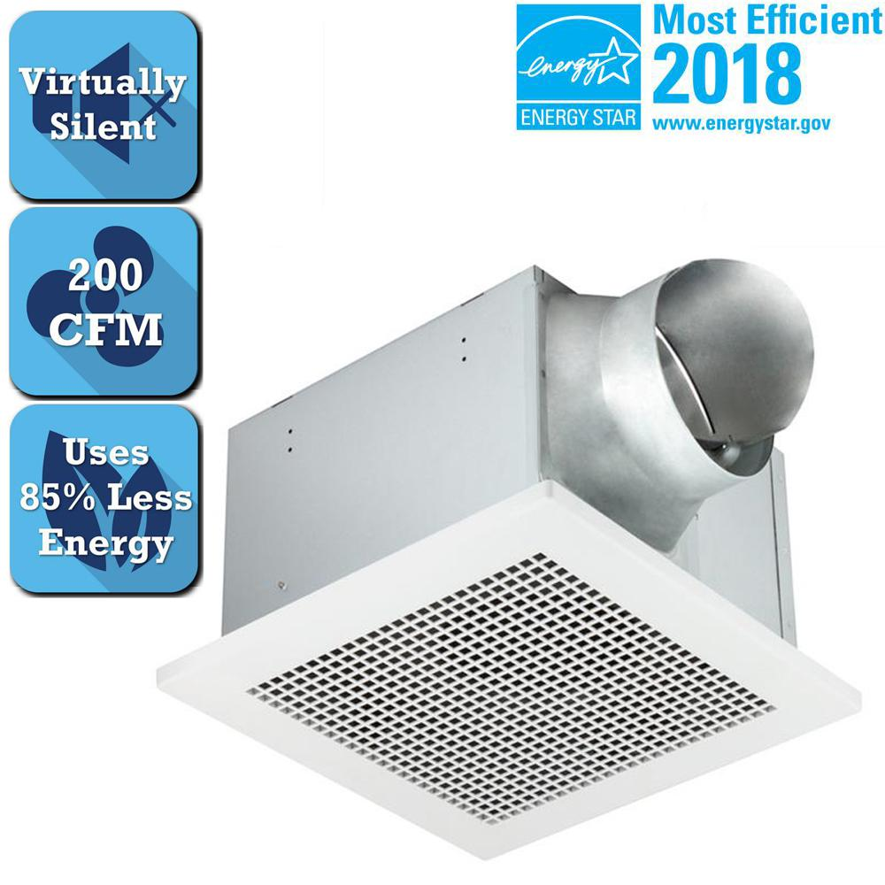 Delta Breez Professional Pro Series 200 CFM Ceiling Bathroom Exhaust Fan, ENERGY STAR