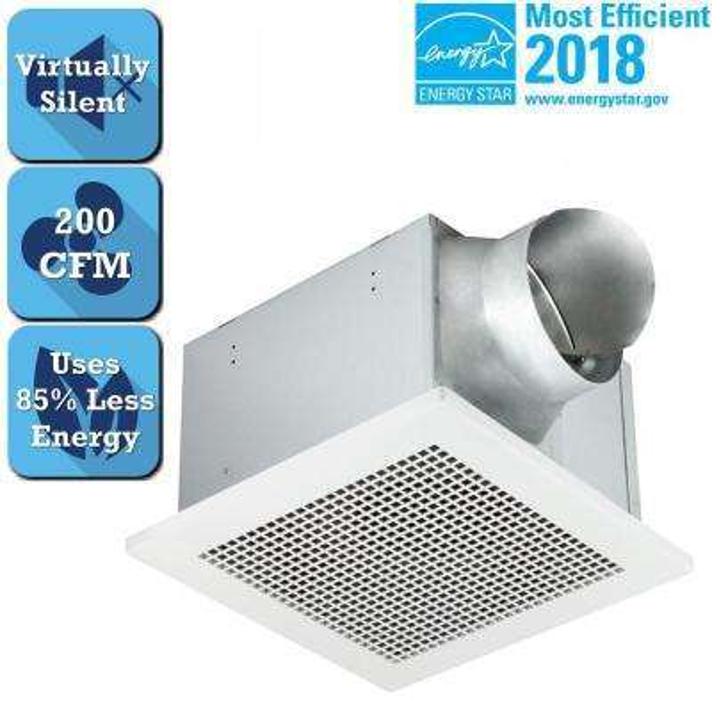 Professional Pro Series 200 CFM Ceiling Bathroom Exhaust Fan, ENERGY STAR*