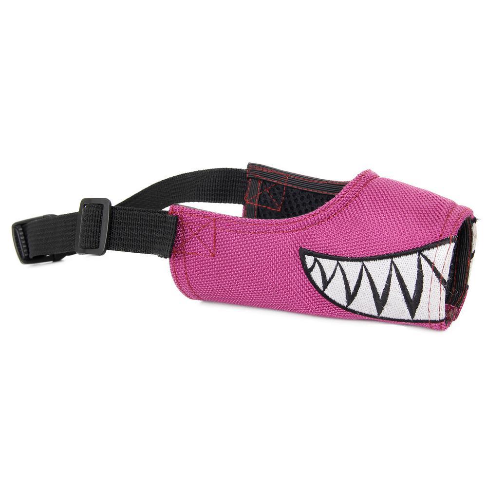 Large Purple Fumigation Adjustable Designer Dog Muzzle