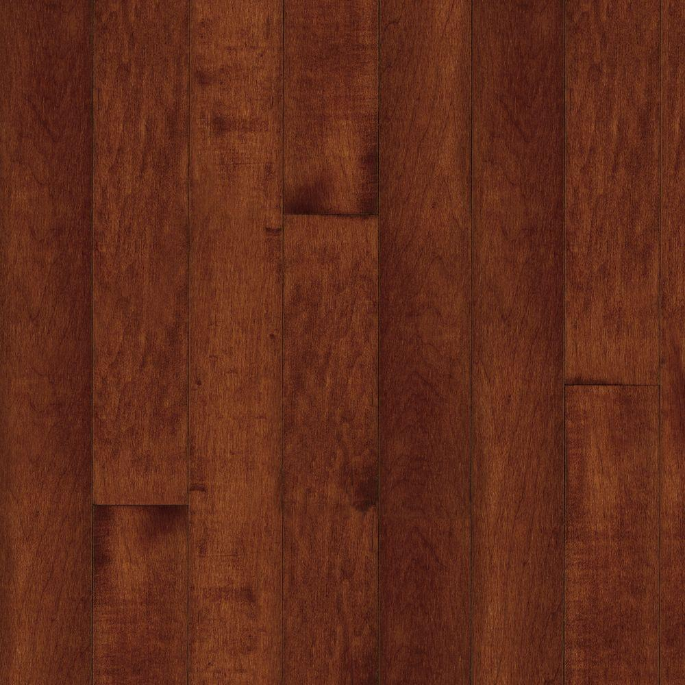 Bruce American Originals Salsa Cherry Maple 3/4 in. Thick x 2-1/4 in. W x Random Length Solid Wood Flooring (20 sq. ft. /case)