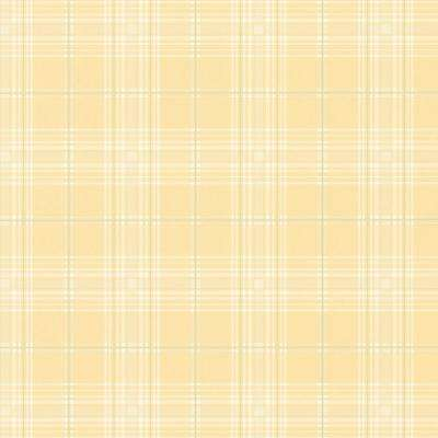 Chic Plaid Vinyl Strippable Roll Wallpaper (Covers 56 sq. ft.)