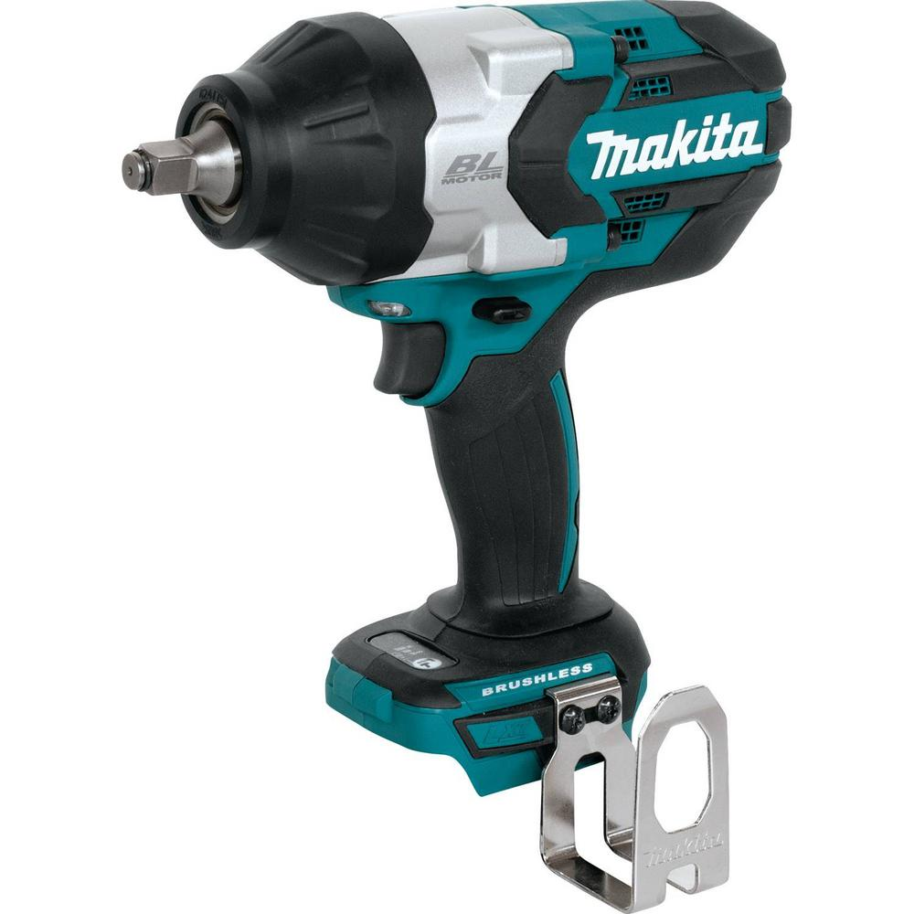 Makita 18-Volt LXT Lithium-Ion Brushless Cordless High Torque 1/2 in. Sq. Drive Utility Impact Wrench (Tool Only)