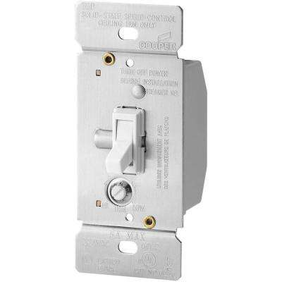 5 Amp Single-Pole Variable Fan Speed Control - White