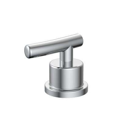 Bathroom Hot Faucet Replacement Handle in Chrome
