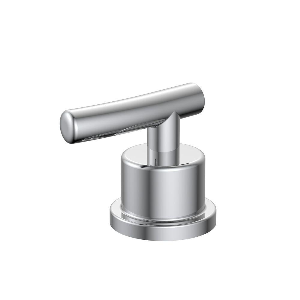 Glacier Bay Bathroom Hot Faucet Replacement Handle in Chrome ...