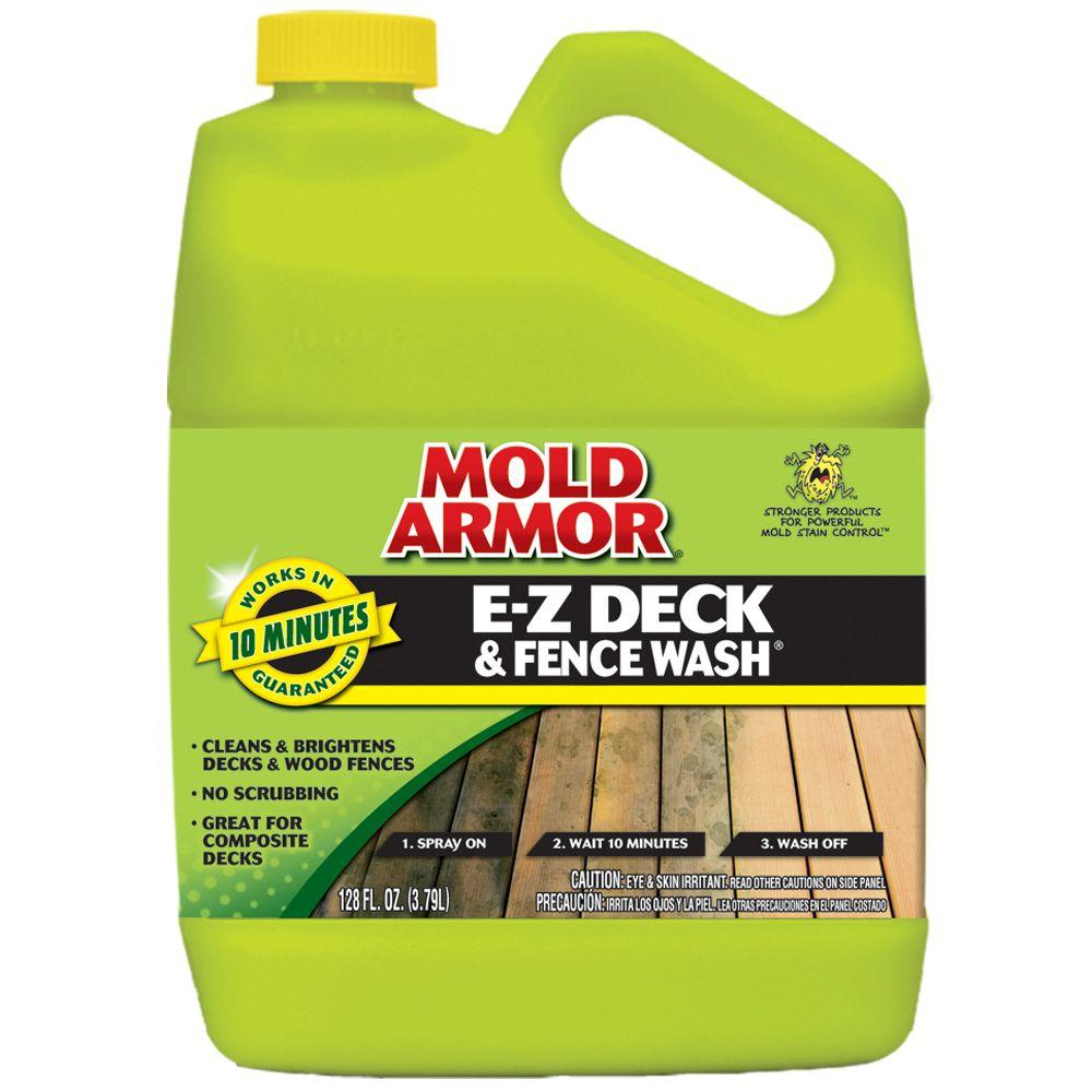 Mold Armor 1 Gal  E-Z Deck and Fence Wash-FG505 - The Home Depot
