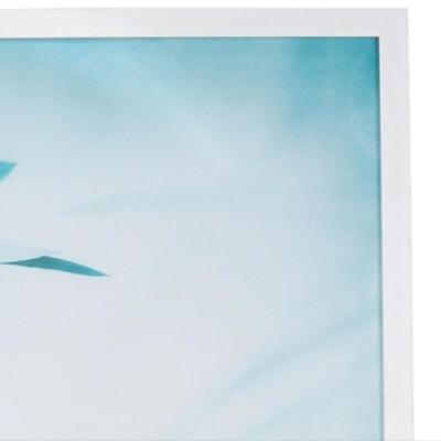 StyleWell Rectangle Framed Abstract Leaf Wall Art 38 in. H x 26 in. W