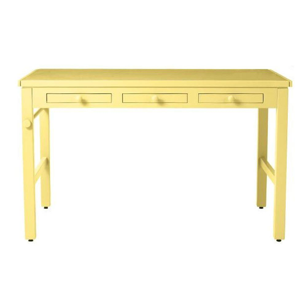 Martha Stewart Living Kids 43 in. W Cornbread Craft Table with Paper Roll