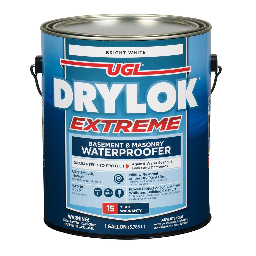 Ugl 1 Gal White Drylok Extreme Waterproofer 209100 The