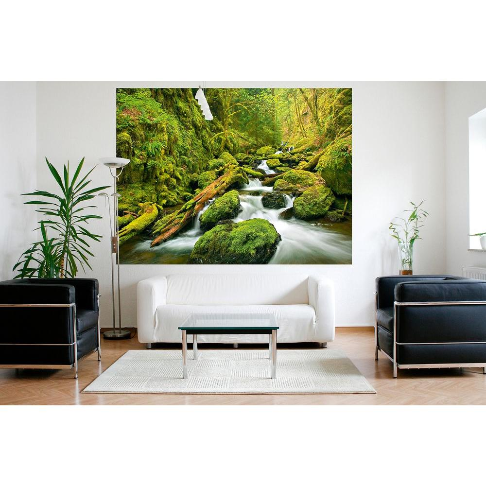 63 in. H x 79 in. W Green Canyon Cascades Wall