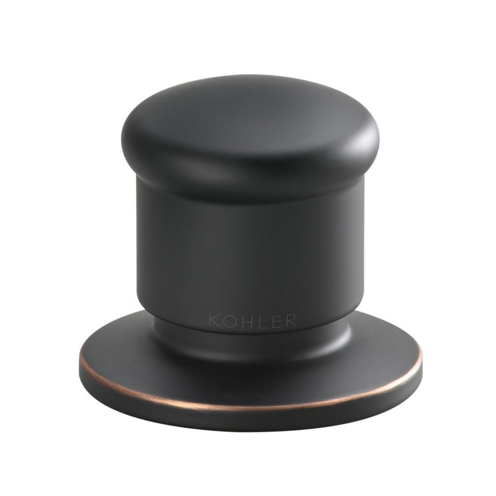 KOHLER Deck Mount Diverter Valve Trim Kit in Oil-Rubbed Bronze (Valve Not Included)-DISCONTINUED