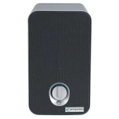 3-in-1 HEPA Air Purifier System with UV Sanitizer, and Odor Reduction, 11 in. Table Top Tower