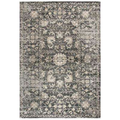 Panache Gray/Beige 3 ft. 3 in. x 5 ft. 3 in. Rectangle Area Rug