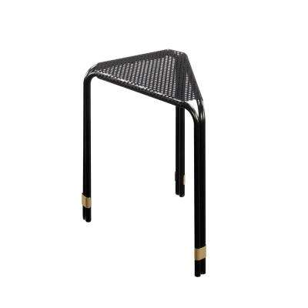 Boulevard Cafe Black Triangular End/Side Table