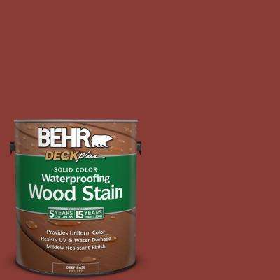 1 gal. #PPF-30 Deep Terra Cotta Solid Color Waterproofing Wood Stain