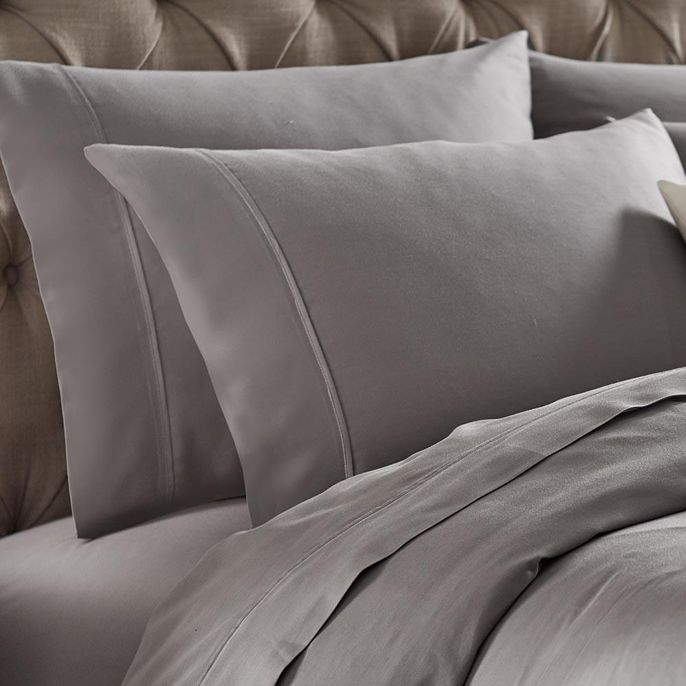 Naples Titanium Queen Pillowcases (2-Pack)