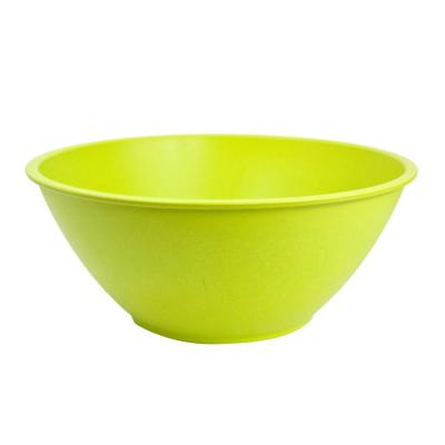 128 oz. Lime Salad Bamboo Bowl (2-Pack)