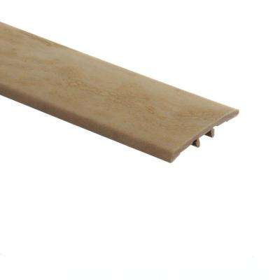 Aegean Travertine Ivory 5/16 in. Thick x 1-3/4 in. Wide x 72 in. Length Vinyl T-Molding