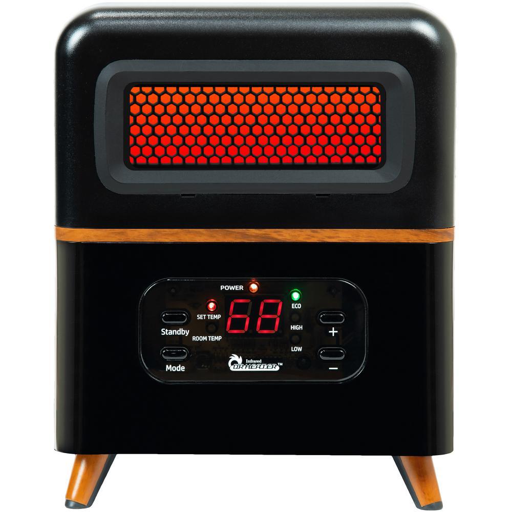 Dual Heating Hybrid Space Heater, 1500-Watt with Remote, More Heat