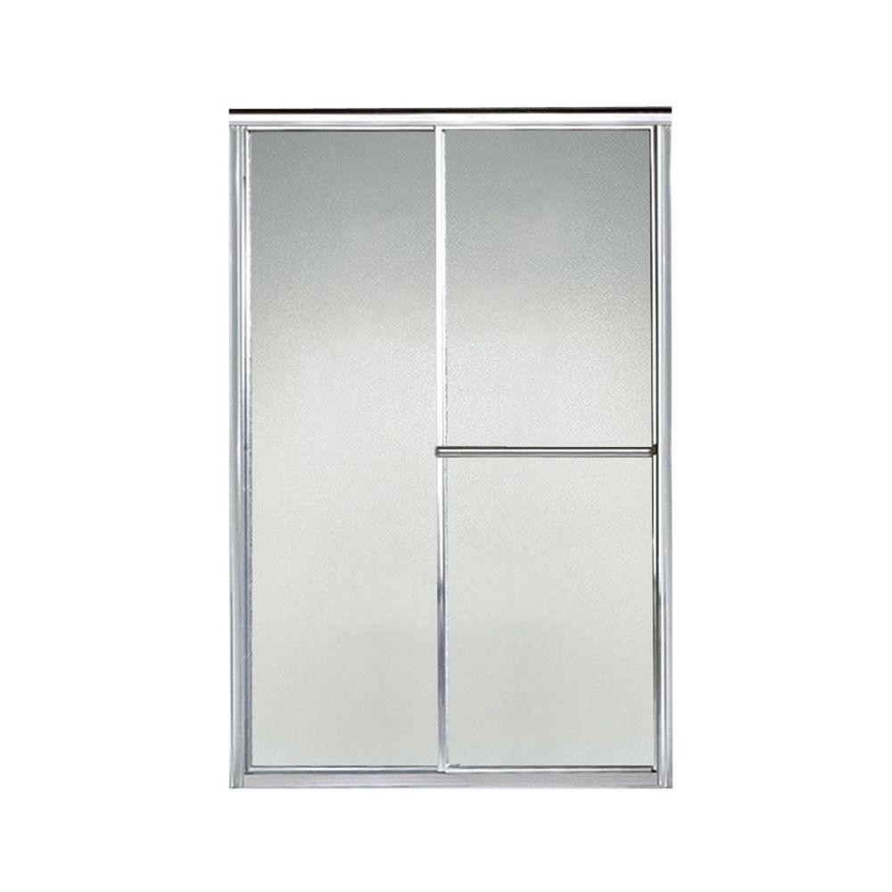 Deluxe 46-1/2 in. x 70 in. Framed Sliding Shower Door in