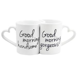 Click here to buy  10 oz. Ceramic Good Morning Coffee Mugs.