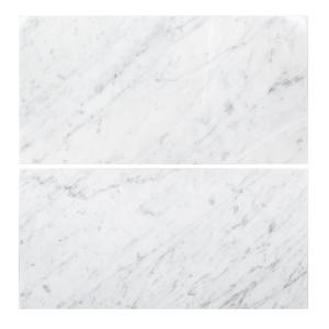 Jeffrey Court Carrara 4 in x 12 in Honed Marble Wall Tile 3
