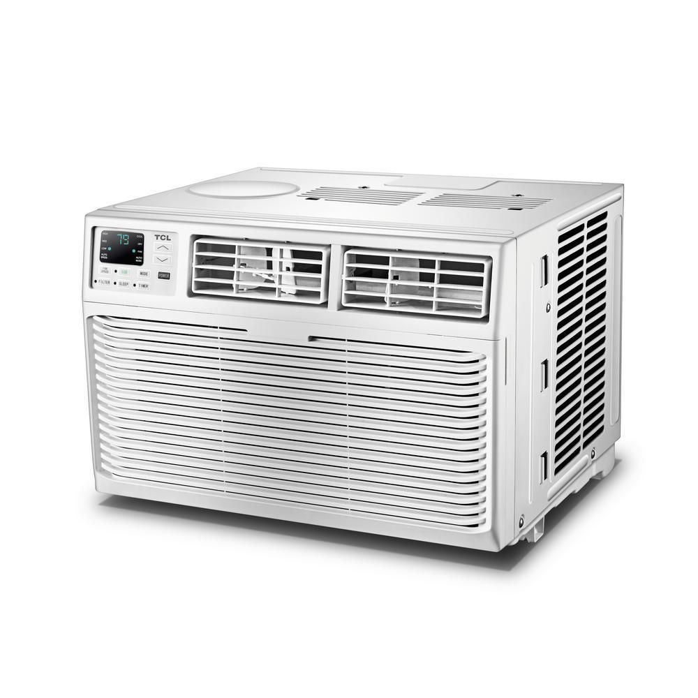 TCL EcoStar 12000 BTU 115-Volt Window Air Conditioner with Remote (White)