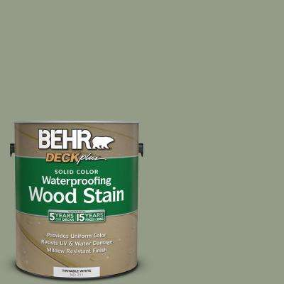 1 gal. #SC-143 Harbor Gray Solid Color Waterproofing Exterior Wood Stain