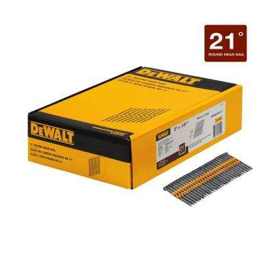 3 in. x 0.131 in. Metal Framing Nails (2000-Pack)