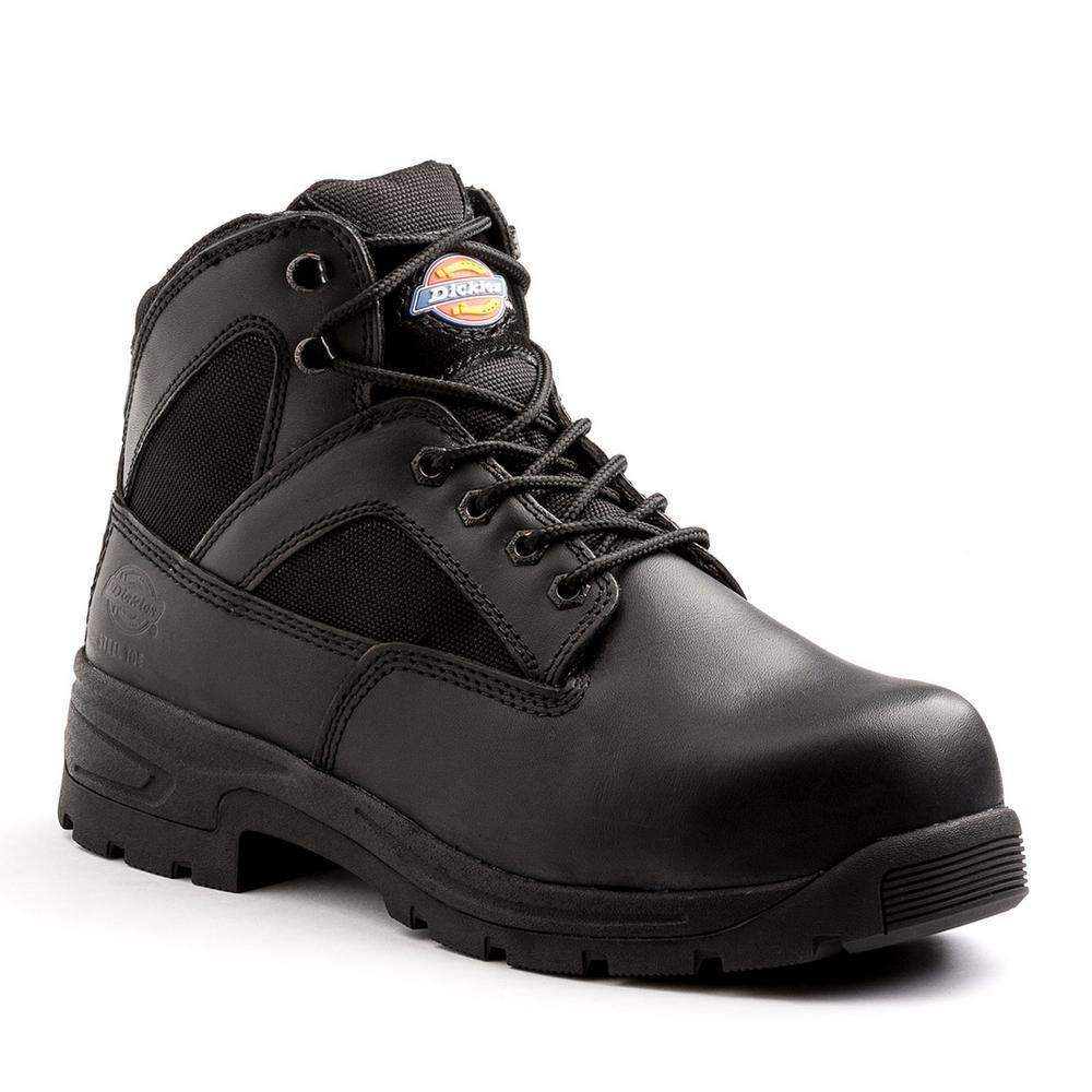 dac770e0c44 Skechers Workshire Men Size 11 Black Leather Steel Toe Work Boot ...