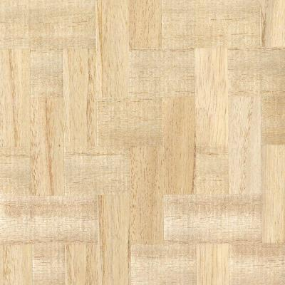 Lera Cream Wood Veneers Wallpaper Sample
