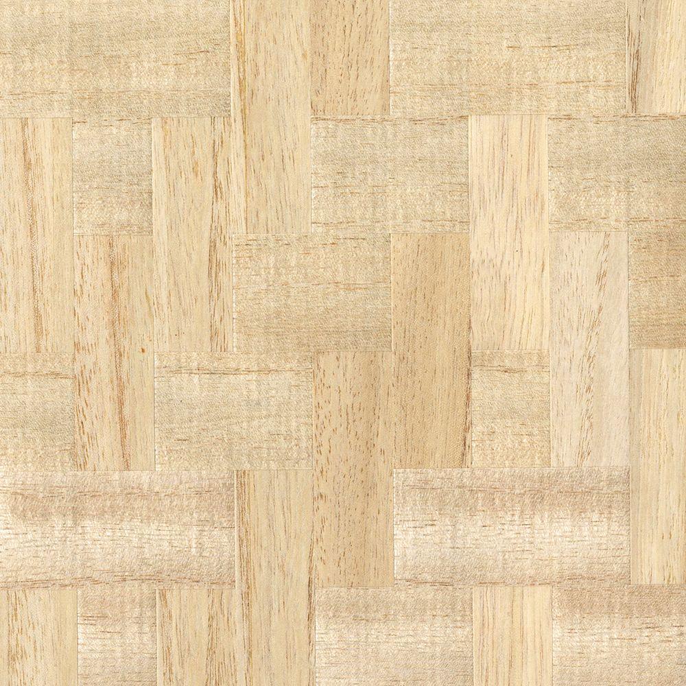 Lera Cream Wood Veneers Cream Wallpaper Sample