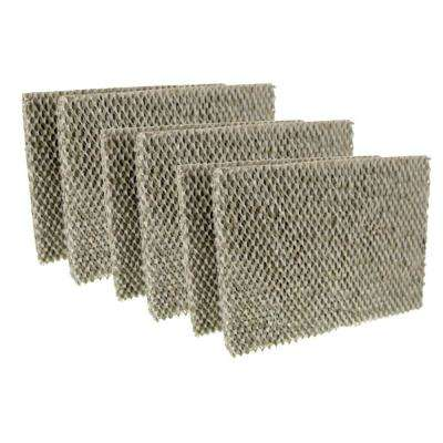Replacement for Aprilaire Models 350, 360, 560, 560A, 568, 600 Water Panel 35 Humidifier Filter (6-Pack)