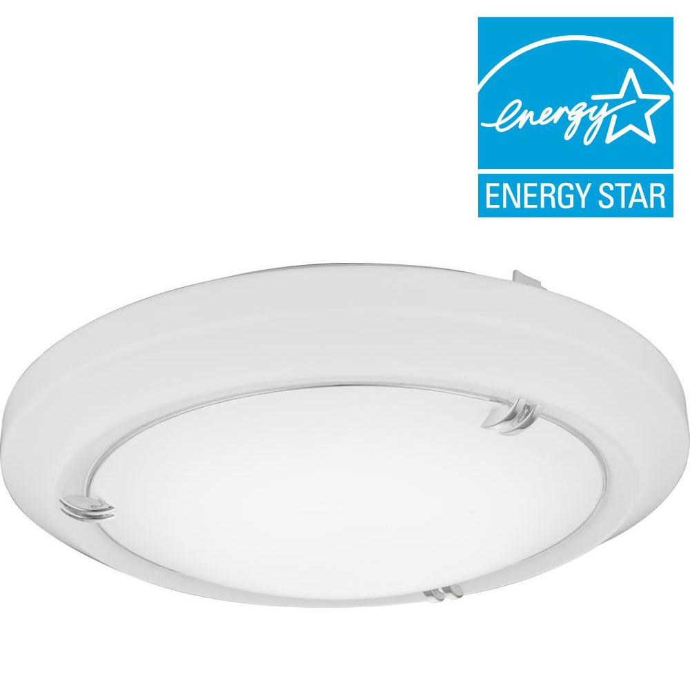 Lithonia Lighting Vela 14 In White Led