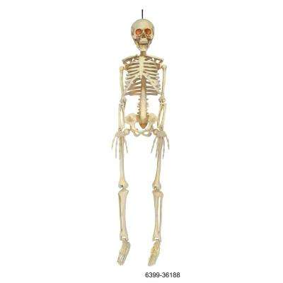 36 in. Hanging Skeleton with LED Illumination