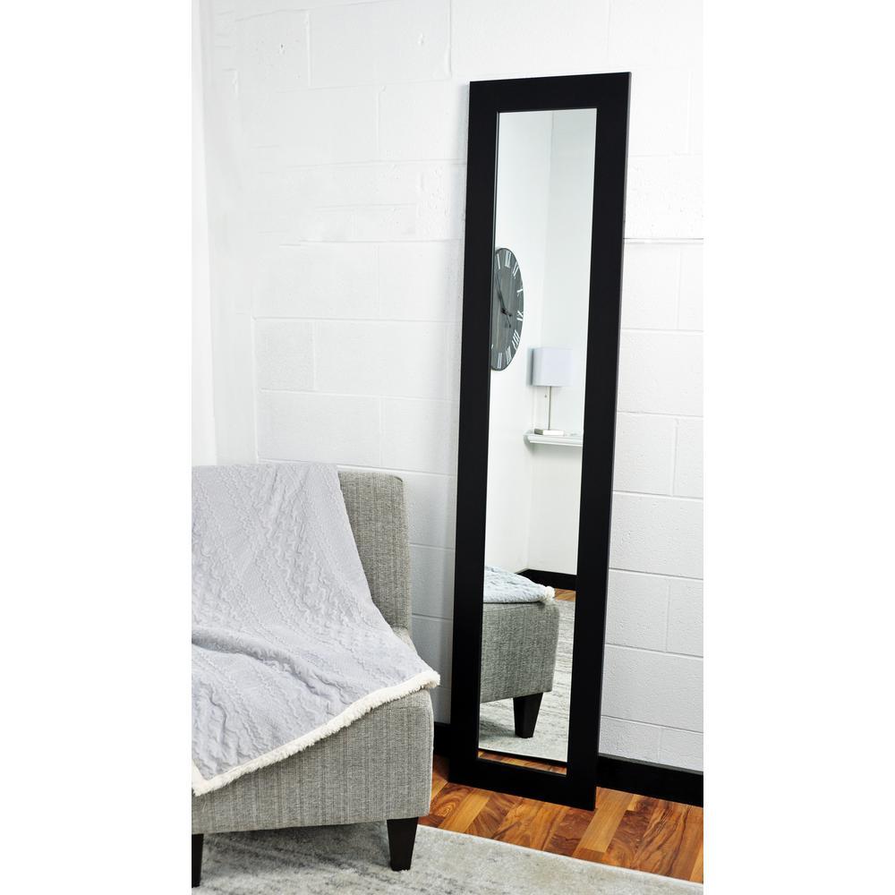 Matte Black Full Length Mirror