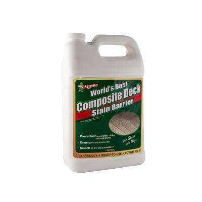 128 oz. Composite Deck Algae and Mildew Stain Barrier