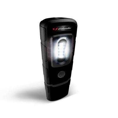 Rechargeable 360-Degree Swivel Compact Work Light and Torch, Black