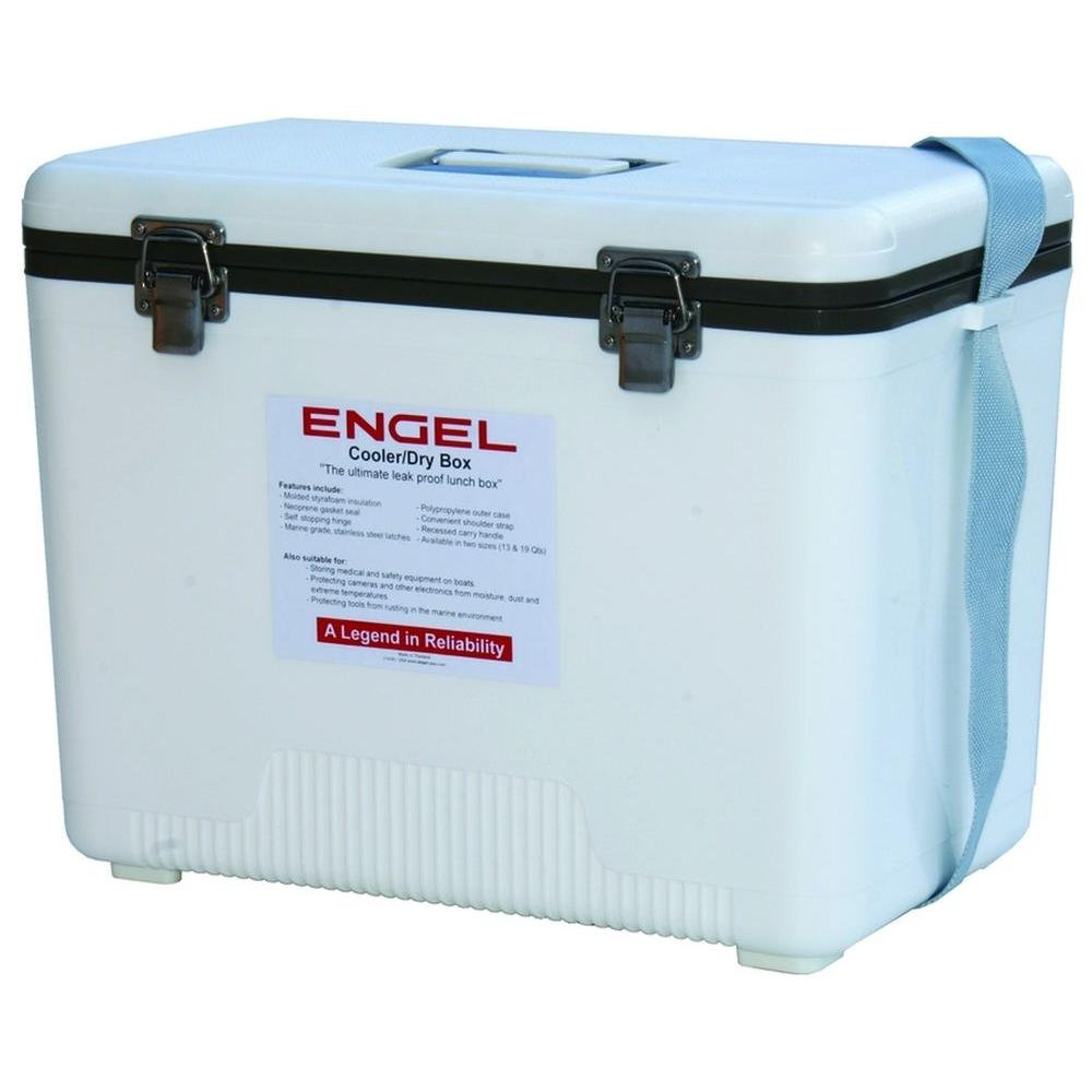 Engel 30 Qt. Air Tight Ice/Dry Box, Whites