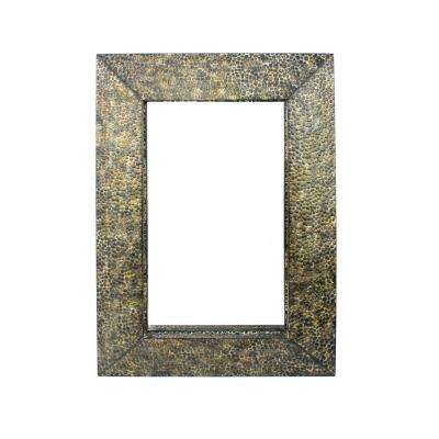 Bronze Metal Wall Mirror