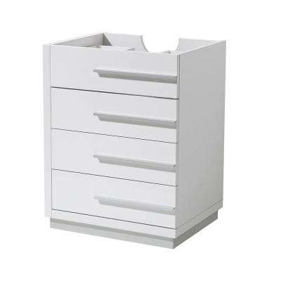 Livello 24 in. Bathroom Vanity Cabinet Only in White